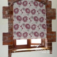 Римские шторы на маленькое окно