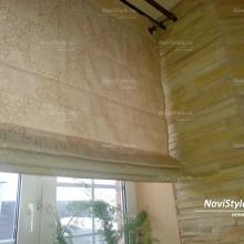 Римские шторы в загородный дом