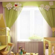 Шторы для детской на заказ, заказать шторы в детскую в Москве