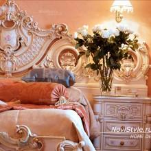 Покрывало на кровать в классическом стиле