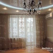 Легкие занавески в гостиную