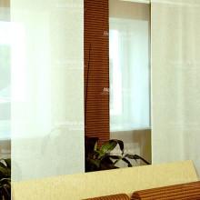 Потолочные шторы в современном стиле для спальни