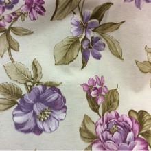 Испанская цветочная ткань для штор Candi A Lilas 70