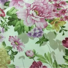 Цветочная ткань для штор Gema P Paris 4. Испания, принт