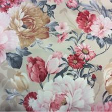 Ткань для штор Испания принт с цветами Gema P Paris 12