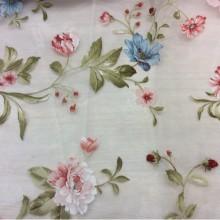 Ткань органза с цветочным орнаментом Gema Coord Devore 28