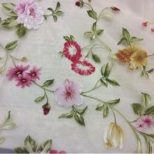 Портьерная ткань для штор из органзы Gema Coord Devore 04