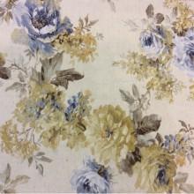 Шторная ткань Amelie 3. Цветочная ткань из Испании