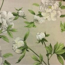 Ткань для штор Light 2, растительный орнамент, принт на ткани