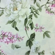 Красивая ткань для штор с цветами Lilas 1