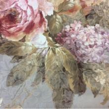 Ткань из атласа и хлопка с цветами 2244/51