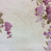 Атласная ткань с цветами 2239/30