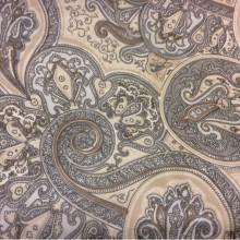 Микровуаль тонкая тюлевая 2440/21. Испания, цвет бежевый, коричневый