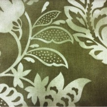 Хлопчатобумажная ткань для штор 2436/57. Испания, зеленая