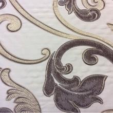 Купить ткань в стиле барокко Botticelli 03. Италия, Европа, портьерная, вискоза. Золотисто-коричневый фон