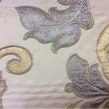 Элитная итальянская ткань для штор Botticelli 05. Европа, Италия, портьерная. Золотисто-дымчатый фон