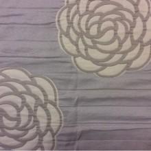 Двухсторонняя ткань под покрывало из хлопка Jeniffer 06. Европа, Испания. Серые, бежевые розы ( абстракция) в стиле ар-нуво