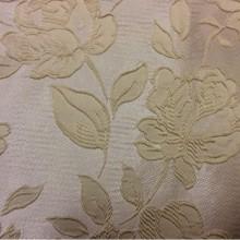 Классическая ткань для штор из Англии 5166 V.012. Европа, Англия, вискоза, атлас, полиэстер, портьерная. На светлом фоне кремовые розы