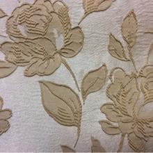 Цветочная английская ткань из вискозы 5166 V.005. Европа, Англия, вискоза, атлас, портьерная ткань. На светлом фоне бежевые розы