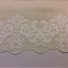 Однотонная фланель с атласной обработкой низа 2399/10. Европа, Италия, портьерная ткань для штор . Кремовый цвет
