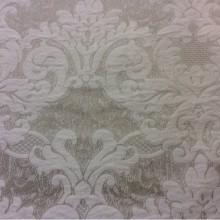 Портьерная итальянская ткань из вискозы 2389/11. Италия, Европа, барокко, классика. Бежево-ванильный фон
