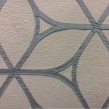 Ткань для штор в стиле модерн Alicante 02. Европа, Италия, портьерная. Бирюзово-сероватый фон