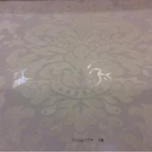Тонкая ткань с вискозной нитью Ornella 28. Италия, Европа, прозрачный тюль. Светлый фон, ванильный принт «под старину»