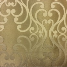 Купить красивую ткань в Москве Elizabeth col. 18. Испания, Европа, портьерная ткань для штор. Бронзовый фон, серый принт
