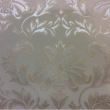 Ткань из французского каталога ткани 2374/11. Европа, Франция, портьерная. Ванильный фон, серебристый орнамент