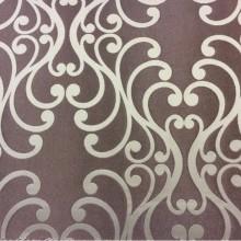 Купить ткань из хлопка и атласа Elizabeth col. 02. Испания, Европа, портьерная ткань для штор. Фон цвета какао, бежевый принт