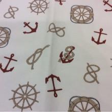 Ткань для штор с морской тематикой Nudos col 15. Европа, Испания, портьерная. Морская тематика