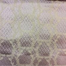 Рифлёный атлас, вискоза Gretta 110. Италия, Европа, портьерная ткань для штор. Сиреневый фон, золотистый орнамент