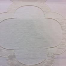 Жатая ткань с крупным орнаментом Alicante 16. Европа, Италия, портьерная. Молочно-кремовый фон