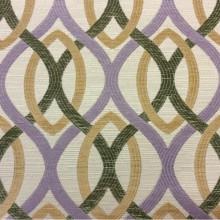 Купить ткань в стиле модерн Paloma 02. Испания, Европа, портьерная ткань для штор. Абстрактные линии сиреневого, бежевого, зелёного оттенков