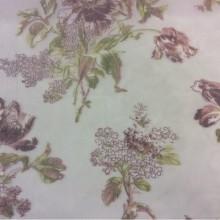 Тонкая сетка с цветочным принтом, микс, полупрозрачный фон 2415/60. Италия, Европа, тонкий тюль