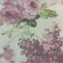 Тонкая сетка с ярким цветочным принтом, микс, фон полупрозрачный 2407/32. Европа, Италия, тюль