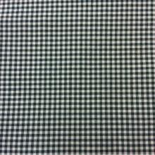 Натуральная ткань с добавлением хлопка и льна Tijuana, col 54. Испания, Европа, портьерная ткань для штор. Мелкая клетка кремового, зелёного оттенков