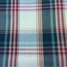Купить натуральную ткань из хлопка и льна в Москве Scotland, col 58. Испания, Европа, портьерная. Орнамент «шотландская клетка» красного, зелёного, кремового оттенков