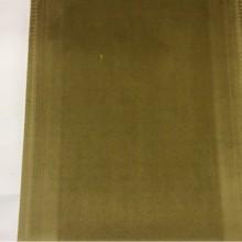 Элитная ткань из бархата с эффектом пыльного покрытия Haven, col 30. Европа, Италия, портьерная ткань оливкового цвета