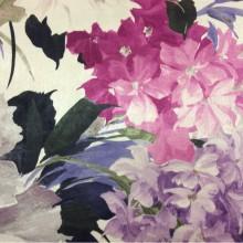 Заказать ткань для гостиной комнаты в интернет-магазине Georgia, col 1161. Турция, портьерная ткань для штор. Крупные яркие цветы с листьями, микс
