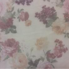 Купить прозрачный тюль с цветами оптом и в розницу в Москве Gabriel Suit, col 1544. Турция, тонкий тюль — сетка.