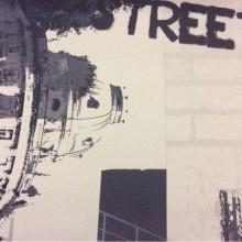 Портьерная ткань блэкаут городская тематика в бежево-чёрных оттенках Berlin, col 1016. Турция, поп-арт