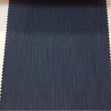 Купить ткань блэкаут в Москве Ibiza, col 80. Италия, портьерная ткань. Ткань блэкаут с вертикальными хаотичными рисками насыщенного синего оттенка