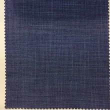 Купить светонепроницаемую ткань для штор в Москве Ibiza, col 57. Италия, портьерная. Ткань блэкаут с геометрическими хаотичными линиями синего джинсового оттенка