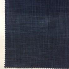 Ткань блэкаут с геометрическими хаотичными линиями тёмно-синего оттенка Ibiza, col 58. Италия, портьерная, плотная, непроницаемая.