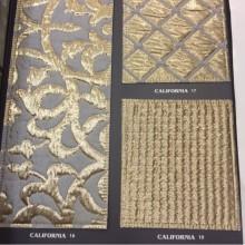 Купить ткань для покрывал в Москве. Итальянский каталог элитной ткани. Уплотнённая рельефная ткань для покрывал с геометрическим или абстрактным рисунком