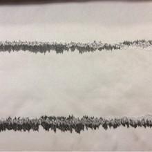 Купить портьерную атласную ткань с абстрактными горизонтальными линиями арт: 2587/17. Немецкий каталог ткани в стиле арт-деко, модерн, лофт. Бежевый фон, светло и тёмно-серые линии