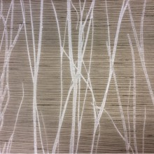 Купить жаккардовую портьерную ткань цвета табака с растительным рисунком, Top Marlena, col 150, Бельгийский каталог ткани для штор.