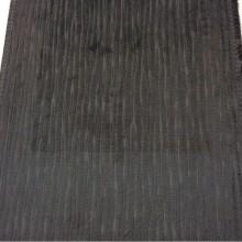 Купить красивый бархат с фактурным продольным рисунком пыльно-угольного оттенка, ширина ткани: 141см, Patro, col 02, Бельгийский каталог ткани.