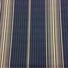 Купить портьерную ткань «под лён», Чередование синих и белых вертикальных полос, Sailor Stripe, col 1048, Турецкий каталог портьерной ткани средней плотности для пошива штор на заказ.